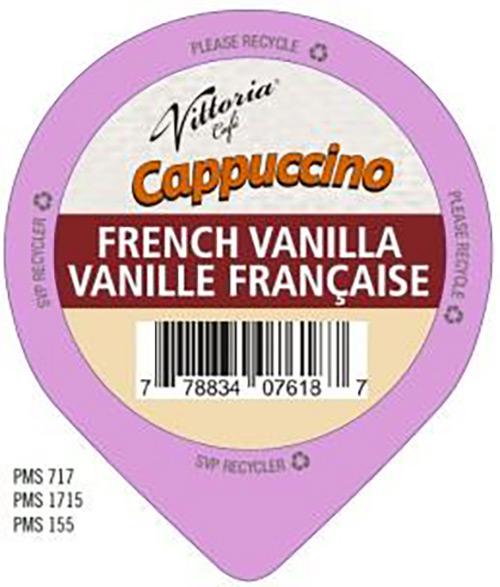 Brûlerie de la Vallée -Cappuccino vanille française - Vittoria