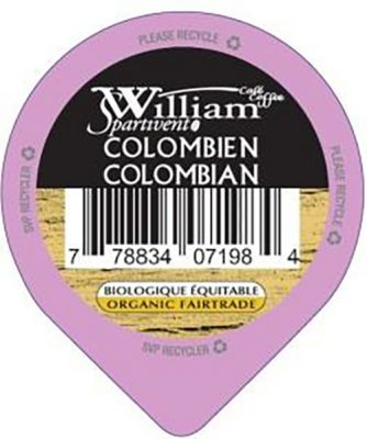 Brûlerie de la Vallée - Colombien- William